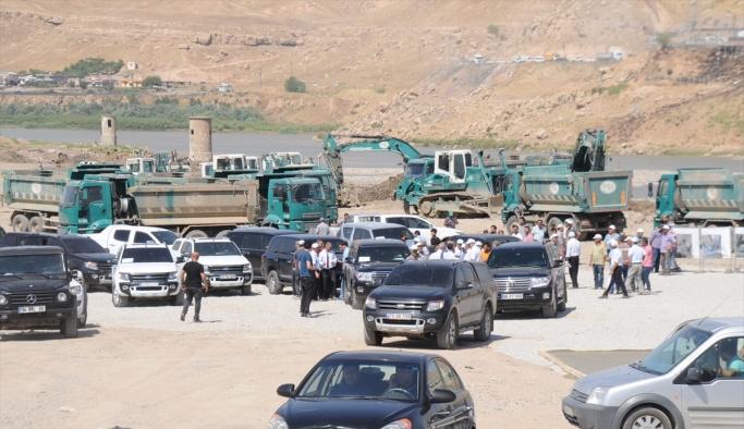 Orman ve Su İşleri Bakanı Eroğlu, Cizre'de