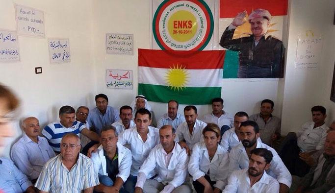 PKK-PYD zulmüne karşı açlık grevindeler