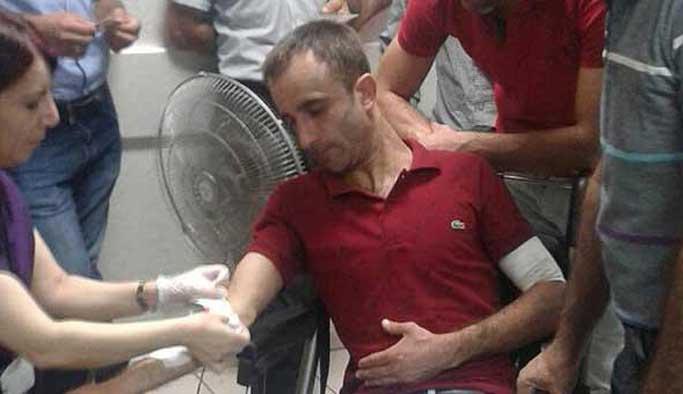 PKK sempatizanları temizlik işçilerine saldırdı