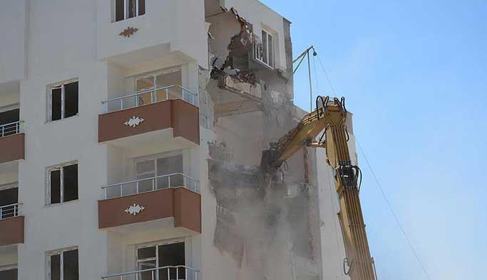 PKK'ya haraç vermediler, binaları yıkıldı VIDEO