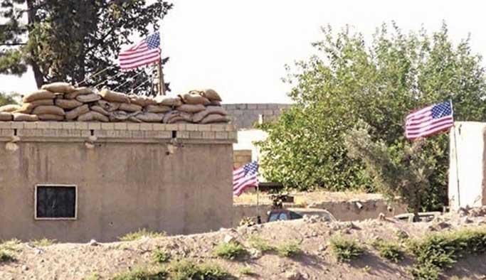 PYD'nin sınırda astığı ABD bayrağı hala yerinde