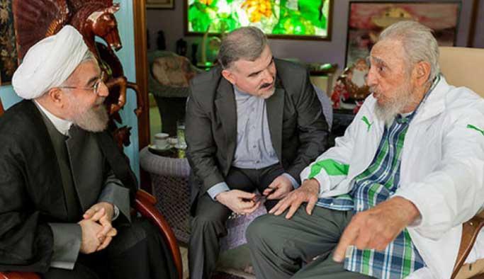 Ruhani, Castro ile bir araya geldi