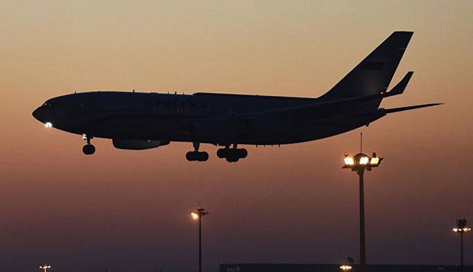 Rusya'dan beklenen ilk uçak yola çıktı