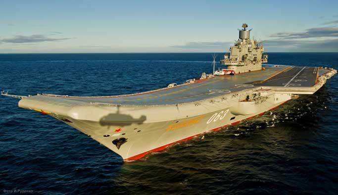Rusya, Doğu Akdeniz'e uçak gemisi gönderiyor