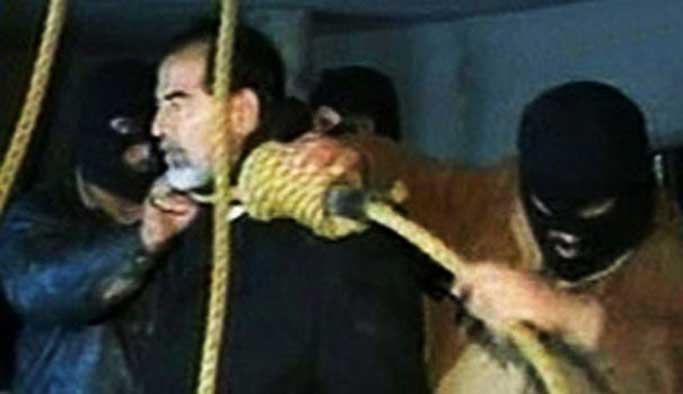 Saddam Hüseyin son anlarında bile o sözleri söylemiş
