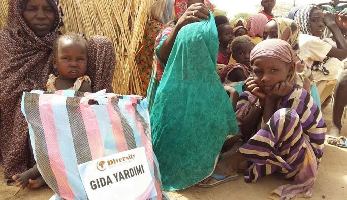 Sahra Altı Afrika'daki muhtaçlara kurban eti