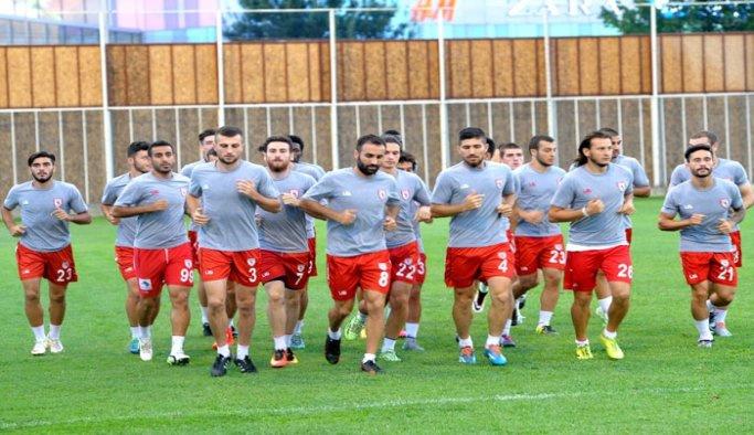 Samsunspor, Denizlispor maçı hazırlıklarına başladı