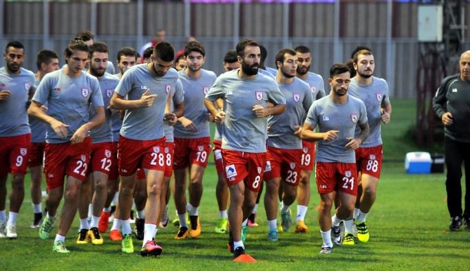 Samsunspor'da, Mersin İdmanyurdu maçı hazırlıkları