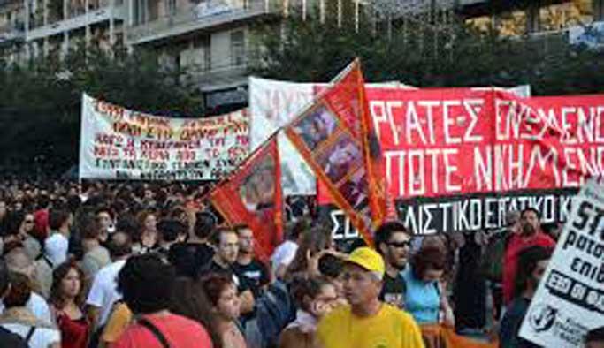 Selanik Fuarı protestoların gölgesinde kaldı