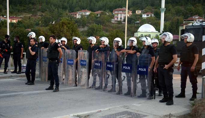 Sinop'taki kavganın gerginliği bugün de sürdü