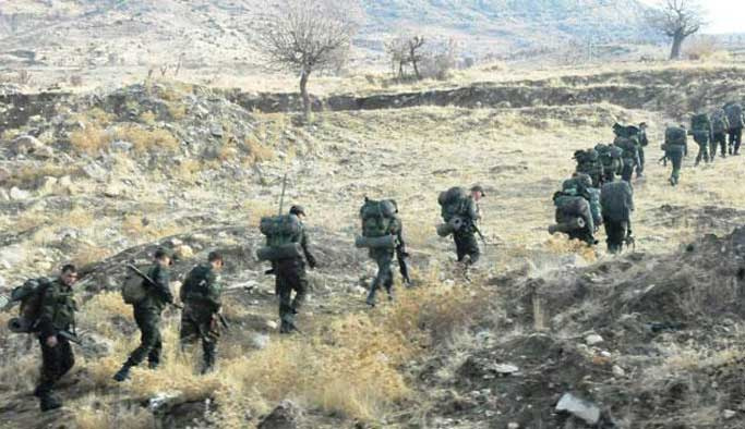 Sıra Cudi Dağı'ndaki teröristlere geldi