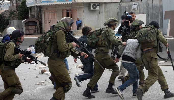 Son iki günde vurulan Filistinli sayısı 5 oldu