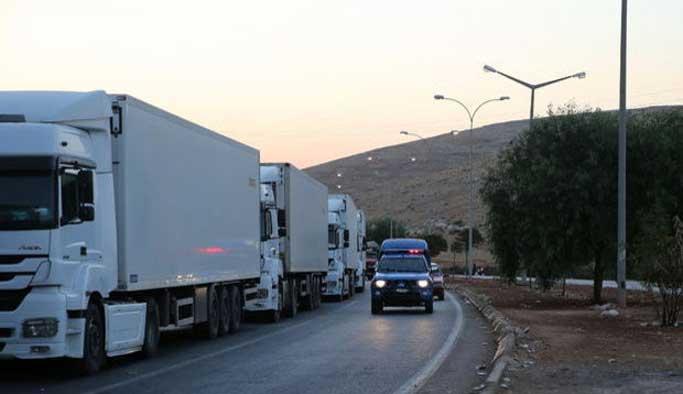 Suriye'de yardım konvoyuna bombalı saldırı