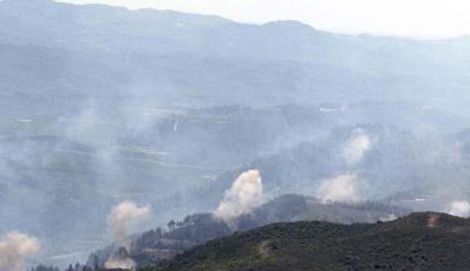 Suriye rejimi Lazkiye kırsalına saldırıyor