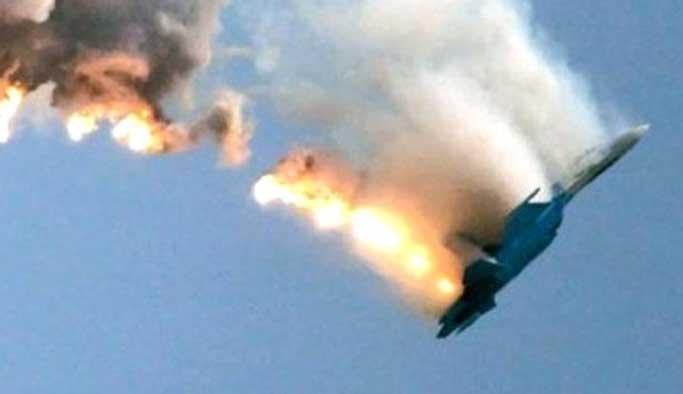 Suriye savaş uçağı düşürüldü