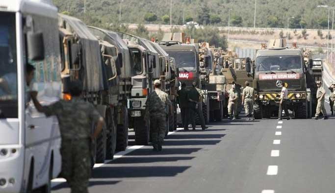 Suriye'ye yeni tank sevkiyatı yapıldı