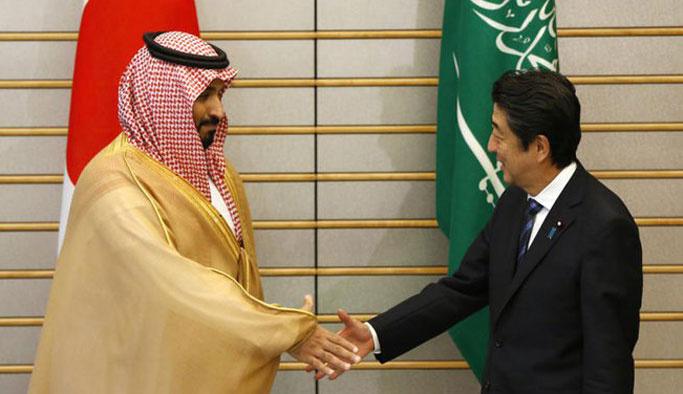 Suudi Arabistan ile Japonya arasında anlaşma