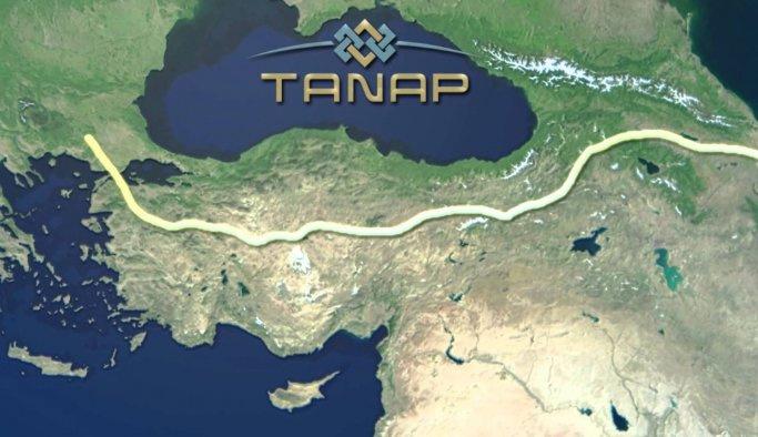 TANAP'ta dünya rekoru