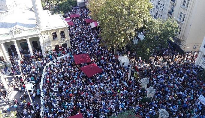 Tarık Akan için Muhsin Ertuğrul'da tören düzenlendi