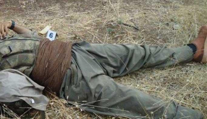 Terör örgütü ölü ve yaralıları Irak'a taşıyor