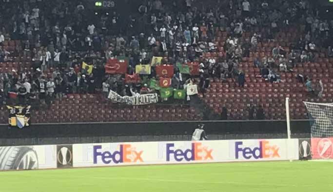 Terör örgütü Osmanlıspor maçında