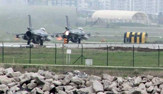 'Teröristler jet üssüne tünel kazdılar' iddiası