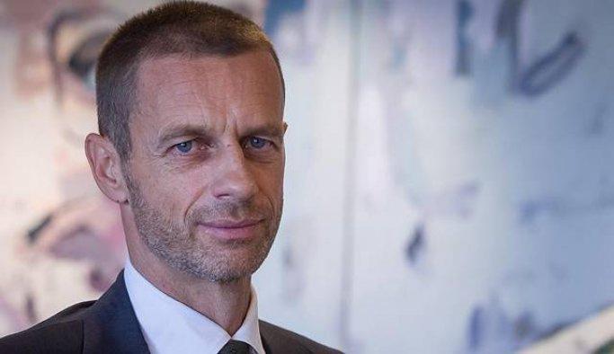 TFF'den yeni UEFA Başkanı Ceferin'e kutlama