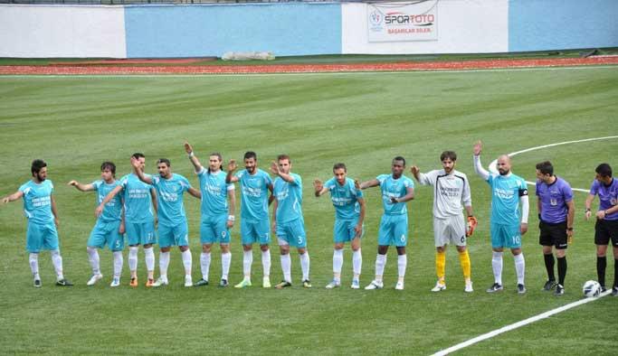 Tunceli'de Galatasaray ile oynama heyecanı