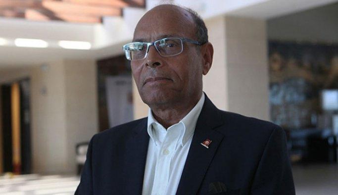 Tunus'ta eski Cumhurbaşkanı Merzuki'ye basın engeli