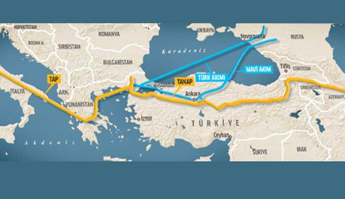 Türk Akımı'nda ilk adım atıldı