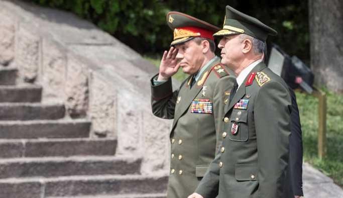 Türk ve Rus orduları arasında kırmızı hat çekildi