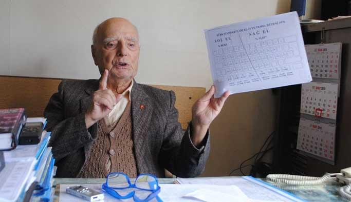 Türkçe klavyenin mucidi öldü