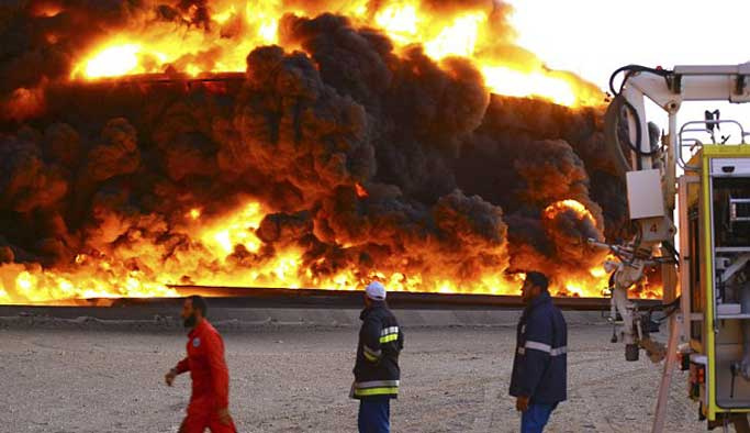 Türkiye'den Libya saldırısına kınama