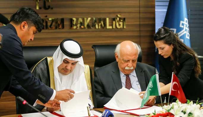 Türkiye-Suudi Arabistan kültür protokolü