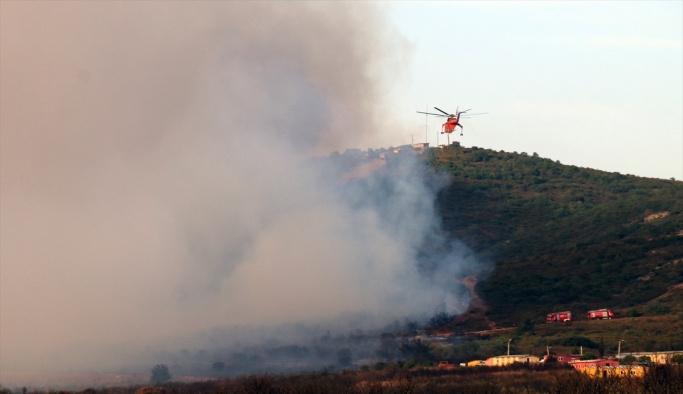 Tuzla'daki yangın kontrol altında