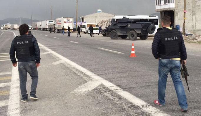 Van Çaldıran'da polise saldırı