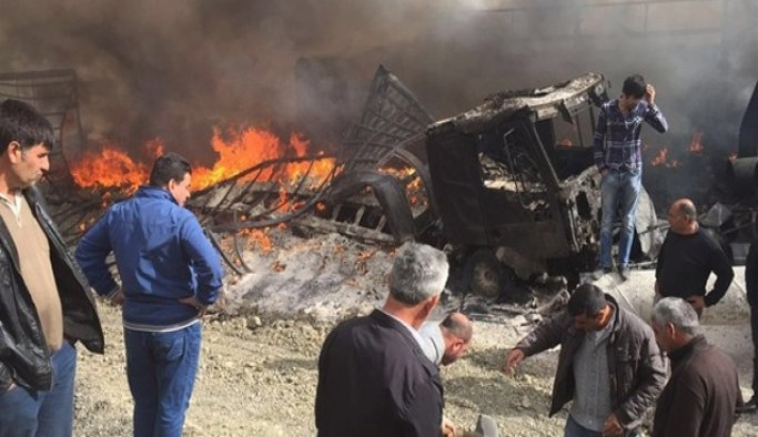 Van'da yola döşenen patlayıcı infilak ettirildi
