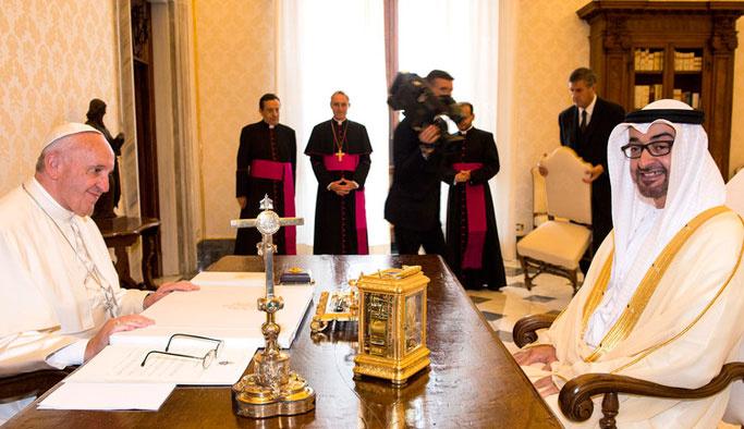 Vatikan ve BAE arasında vizeler kalktı