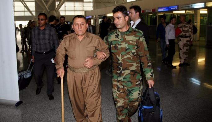 Yaralı Peşmergeler Türkiye yolunda
