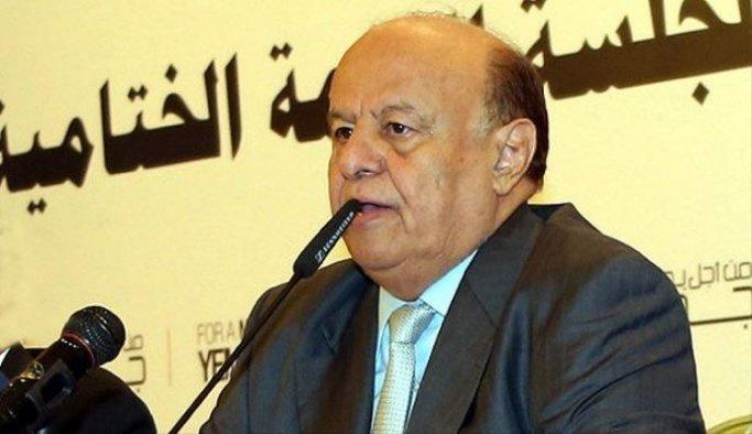 Yemen Cumhurbaşkanı Abdurabbu Mansur el-Hadi: