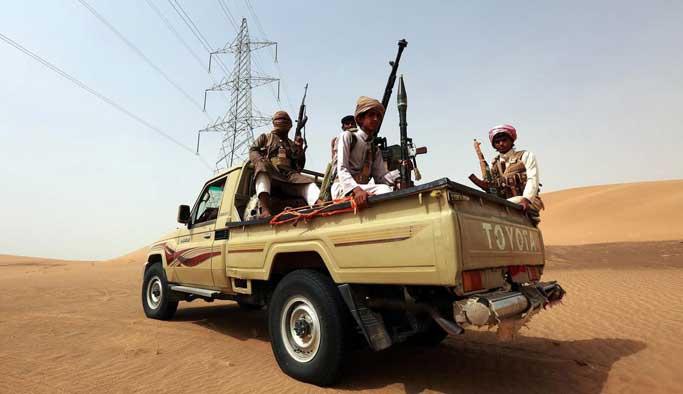 Yemen'de Husiler'in elindeki bazı bölgeler alındı