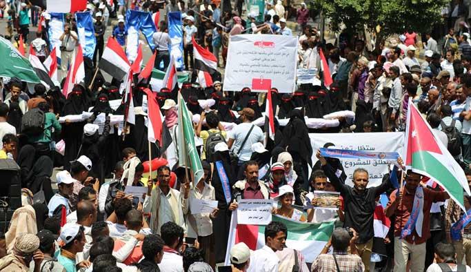 Yemenli taraflar BM temsilcisiyle görüştü
