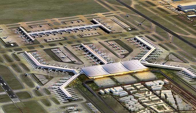 Yeni havalimanına raylı sistem için YPK'ya başvuruldu