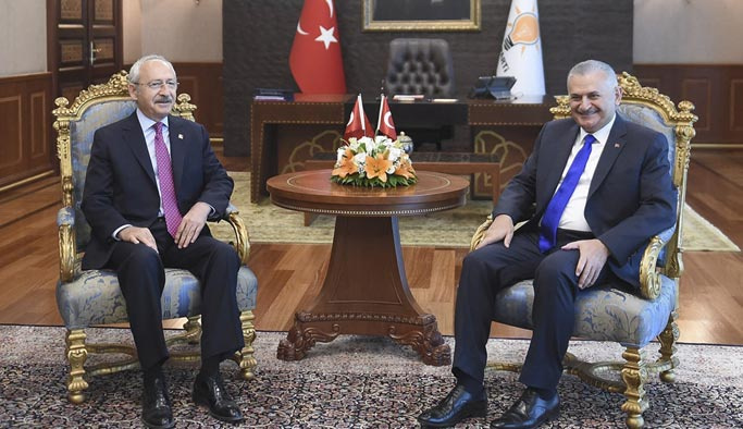 Yıldırım ile Kılıçdaroğlu 1 saat 45 dakika görüştü