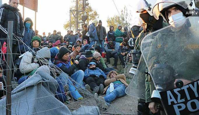 Yunanistan'da sığınmacı sayısı 60 bini aştı