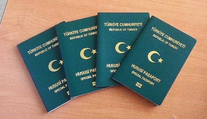 15 bin kişiye yeşil pasaport