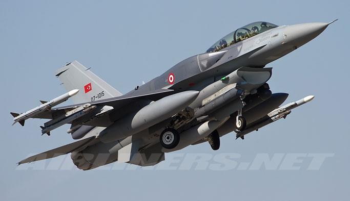 4 Türk savaş uçağı Musul'da