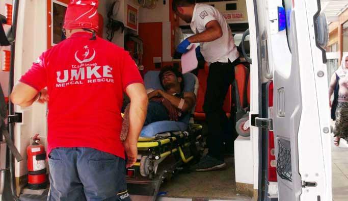 5 ÖSO mensubu Kilis'te tedavi altına alındı