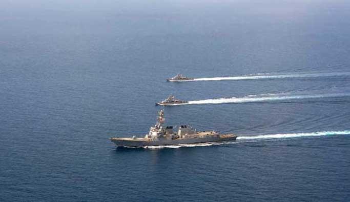 ABD savaş gemilerine füzeli saldırı girişimi