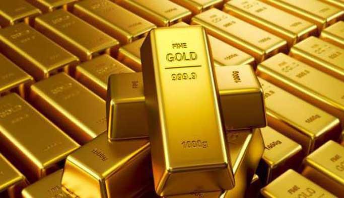 Altın düşüşte